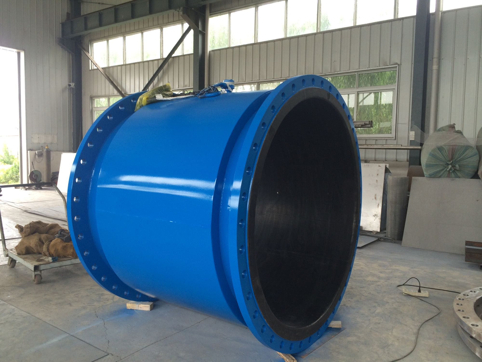 big pipe size magnetic flowmeter ship to abroad