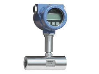 Turbine flow meter clean oil