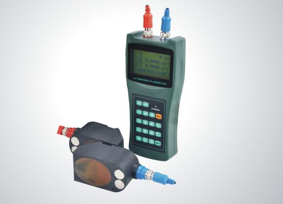 Q&T Portable Ultrasonic Flow Meter in Online Testing Application