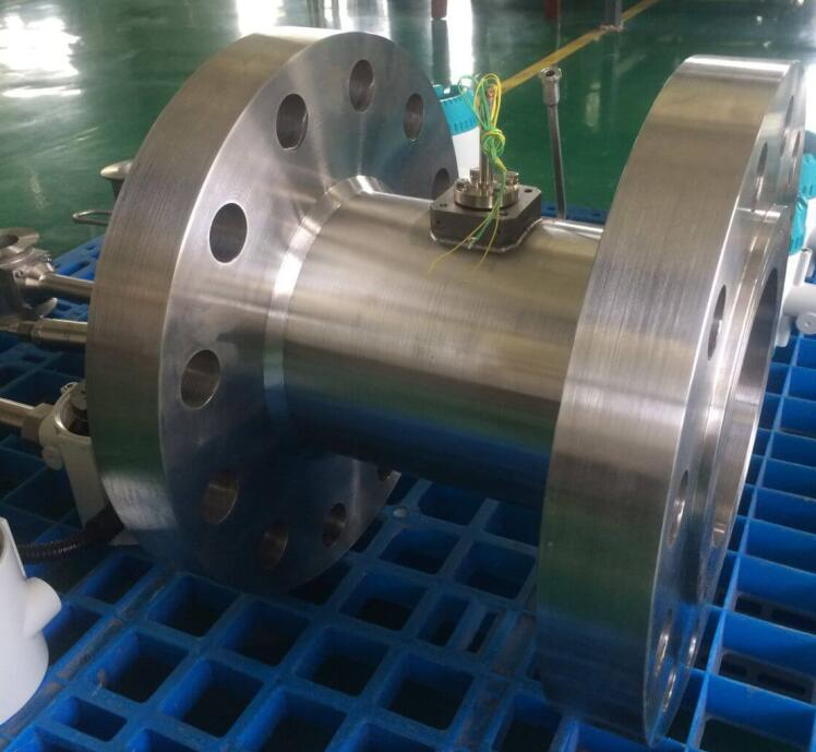 ANSI 600# Flange type liquid turbine flow meter  oil flow meter