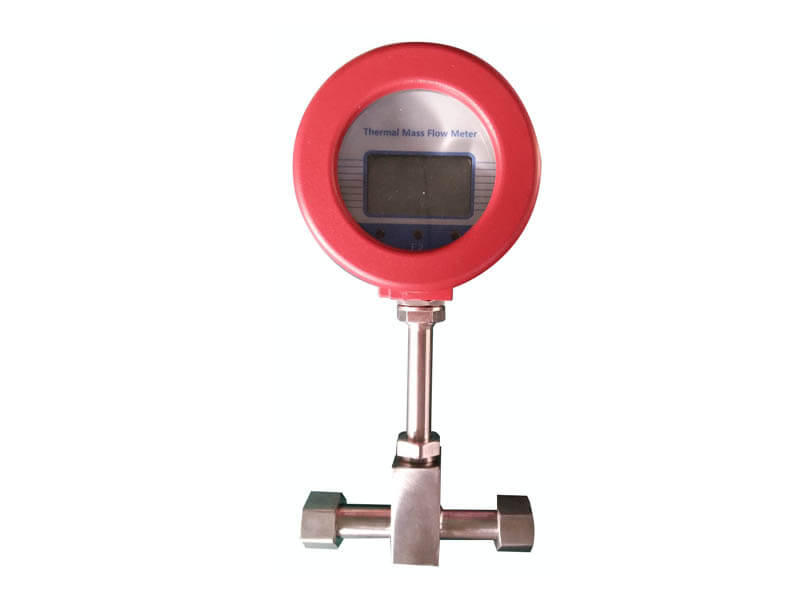 thermal mass flow meter