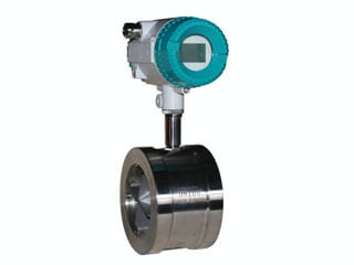 wafer turbine flow meter