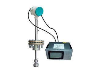 insertion vortex flow meter