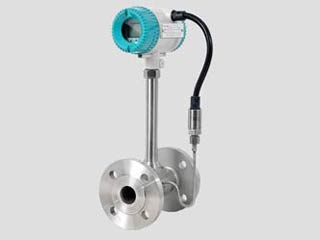 Superheated steam vortex flow meter